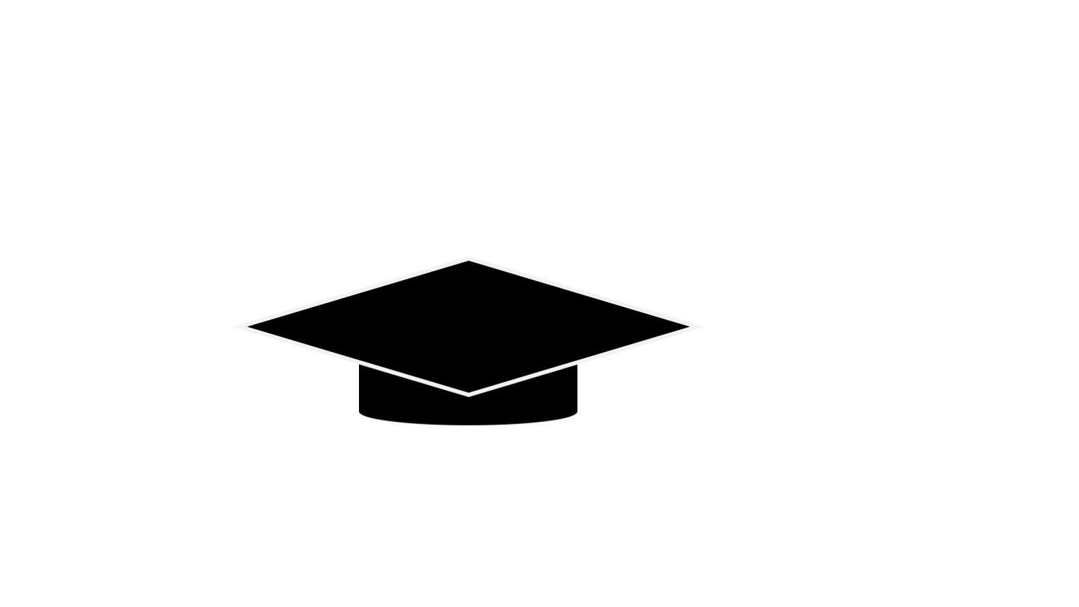icon showing a scholar's hat to signify Australia's higher education sector